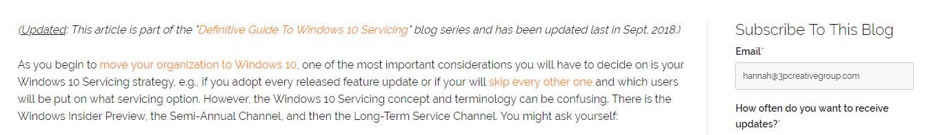 Linking SupportingBlogPostsToPillarPage